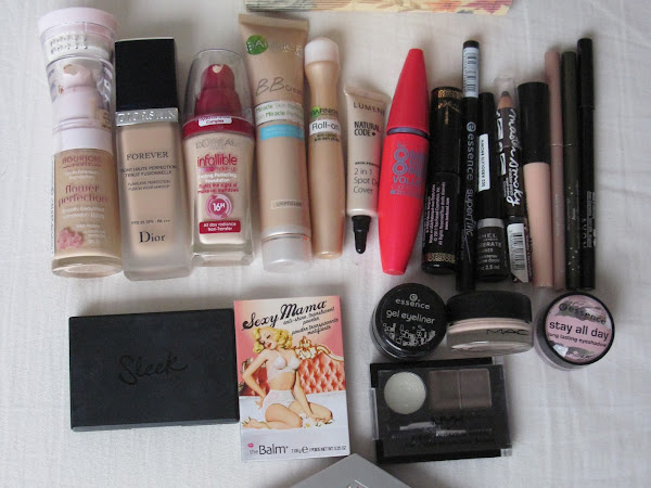 In My Makeup Box: January