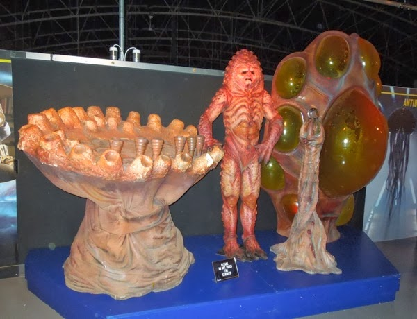 Doctor Who Zygon costume props Day of the Doctor