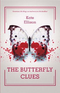 book cover of The Butterfly Clues by Kate Ellison published by Egmont