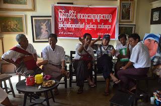 Burmese Writers Union – ျမန္မာႏိုုင္ငံစာေရးဆရာမ်ားသမဂၢ ျဖစ္ေျမာက္ေရးေကာ္မီတီဖြဲ႔စည္းေရး အခမ္းအနားက်င္းပ