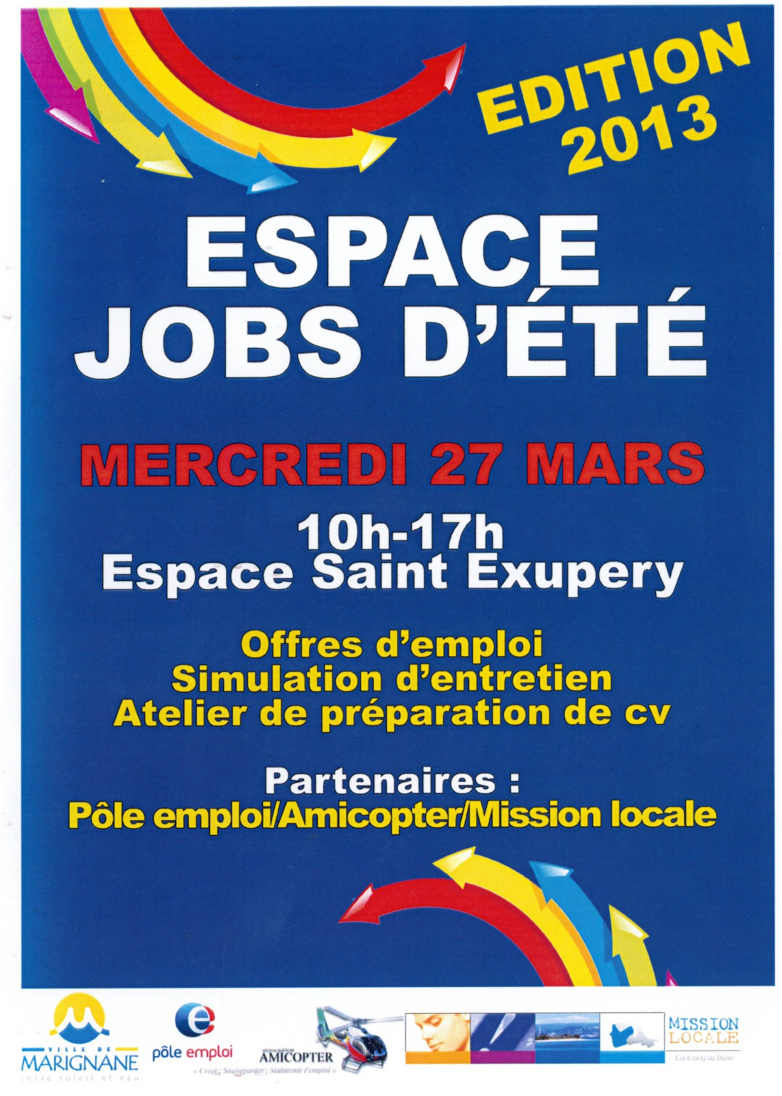 espagne jobs d u0026 39  u00e9t u00e9 - mercredi 27 mars