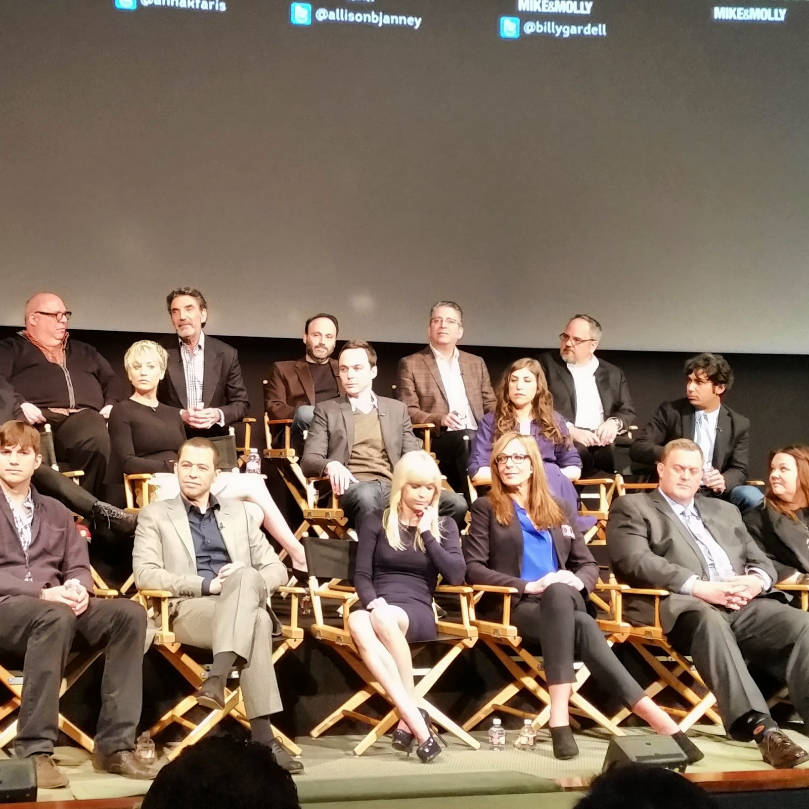 The cast and Crew of Warner Bros. shows