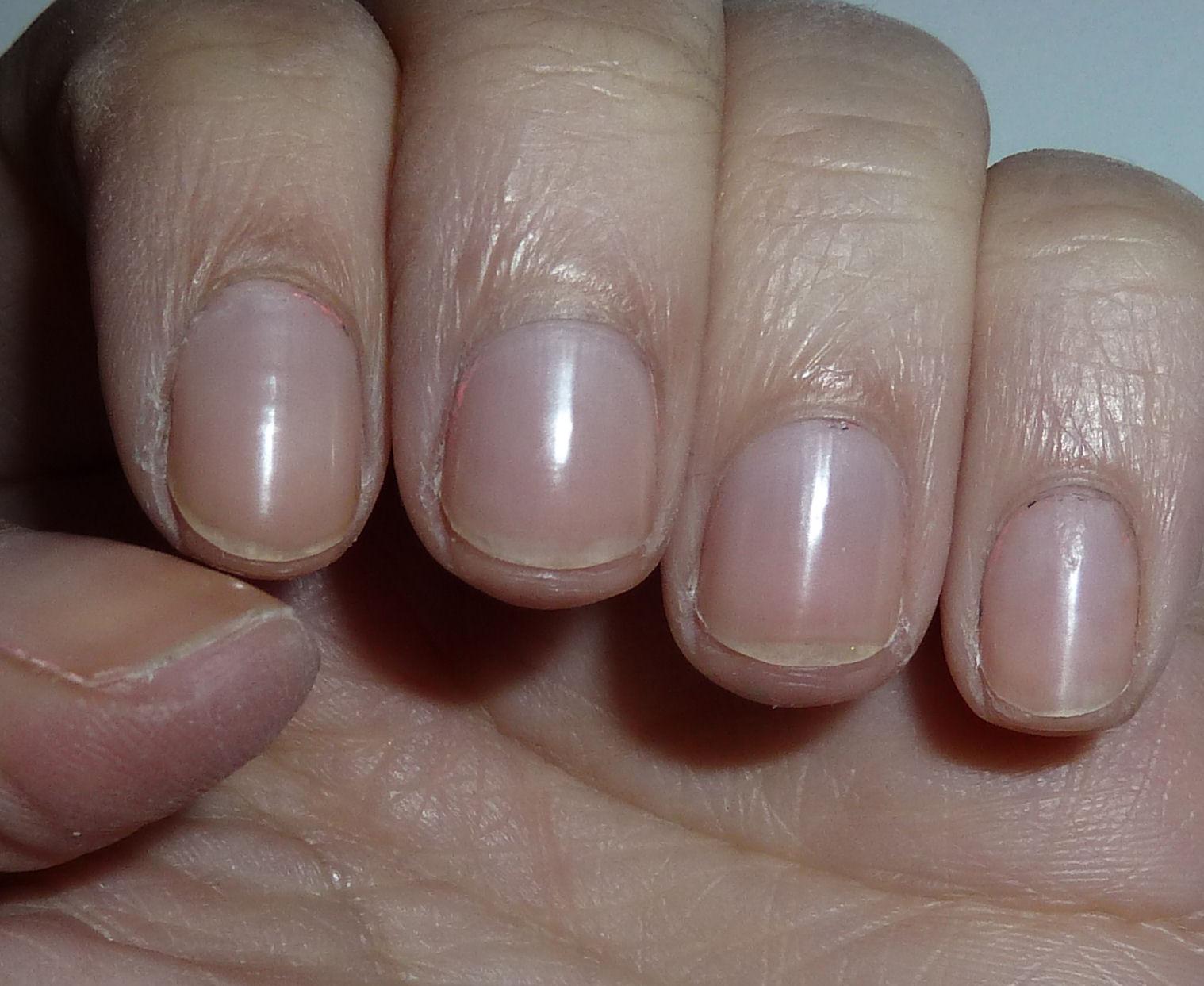 Short nails!