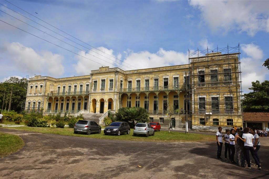 Colégio Antonio Lemos, onde concluí o Ensino Médio, em 1973.
