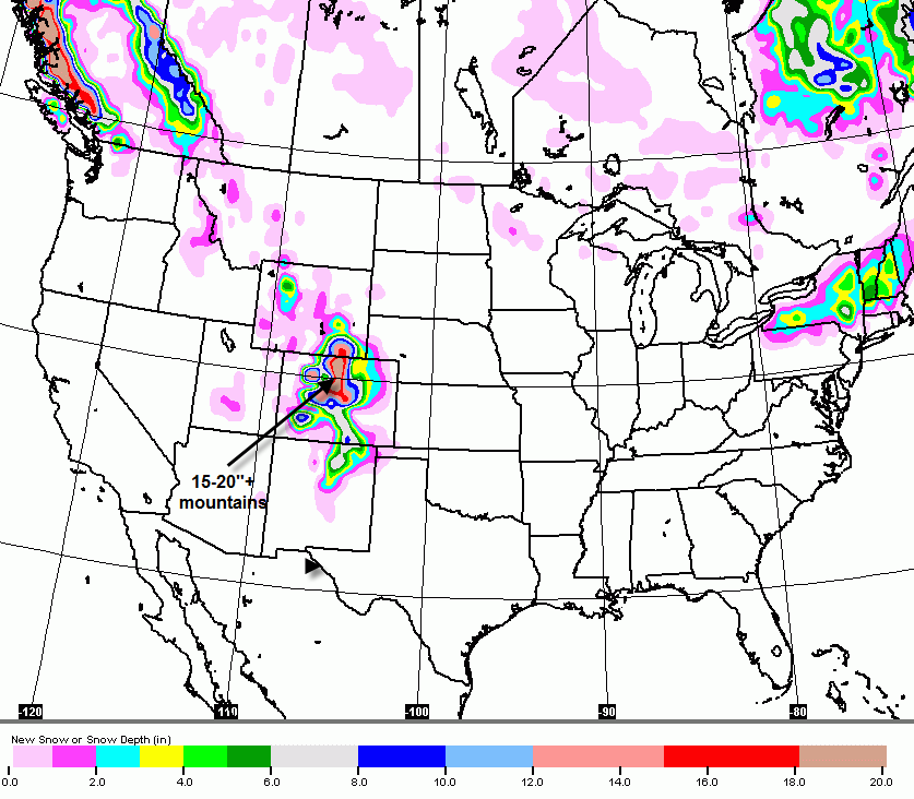 Denver Weather Tomorrow: The Original Weather Blog: First Major Snowstorm Of Season