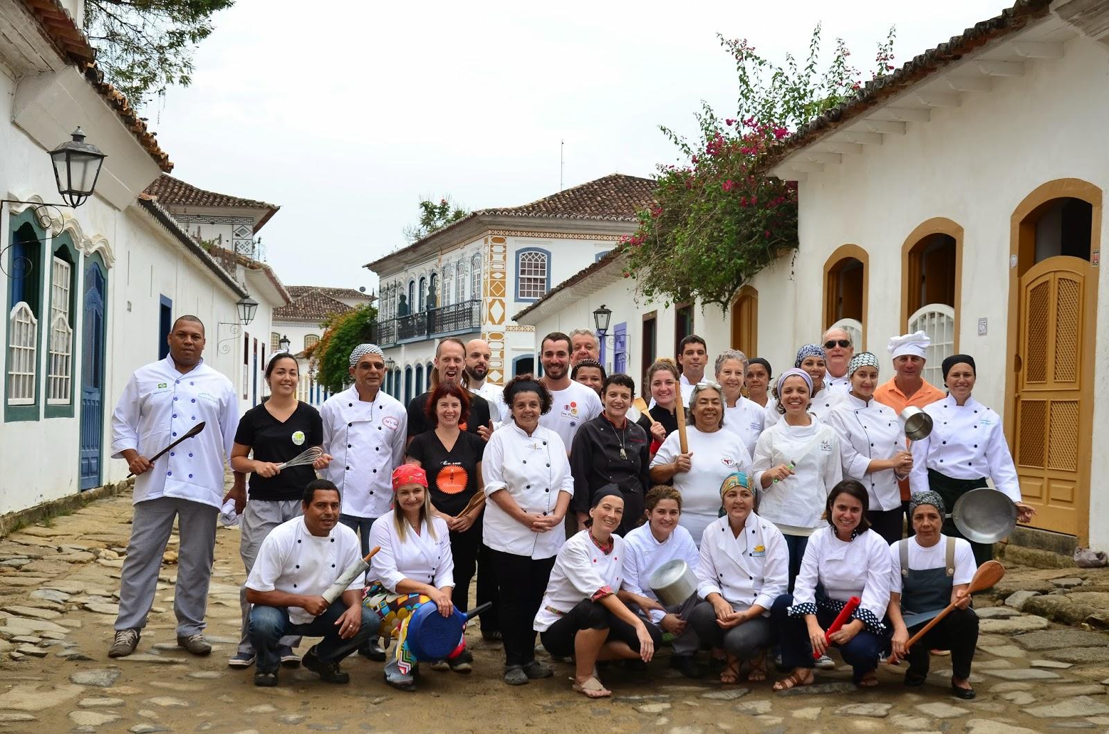 Novembro é mês de Folia Gastronômica em Paraty