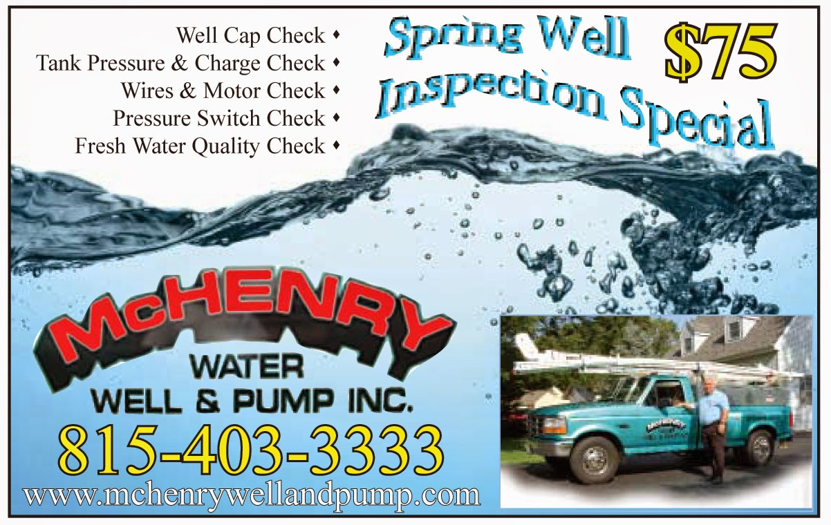 Welcome to McHenry Water Well and Pump BLOG, serving the residents ...