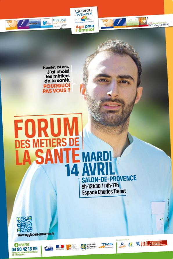 Foyer Lou Calen Salon De Provence : Forum des m�tiers de la sant� salon pce avril
