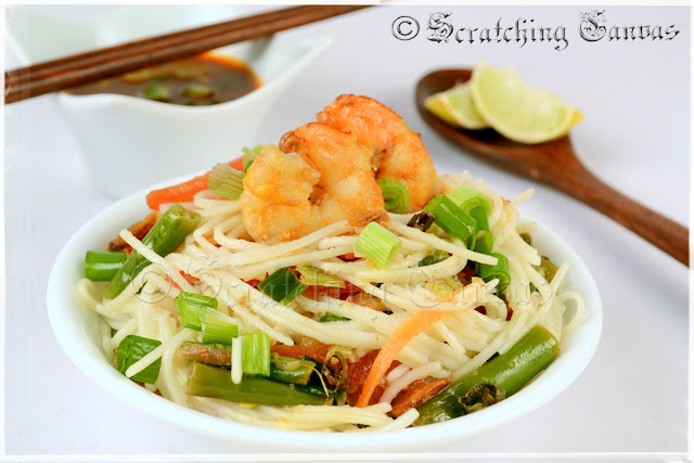 Ginger Shrimp Noodles