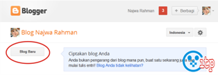 Membuat Blog Gratis di Blogger