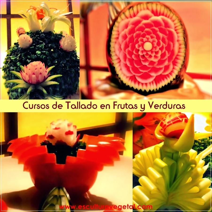 Curso tallado frutas y verduras: curso de tallado en frutas y verduras ...