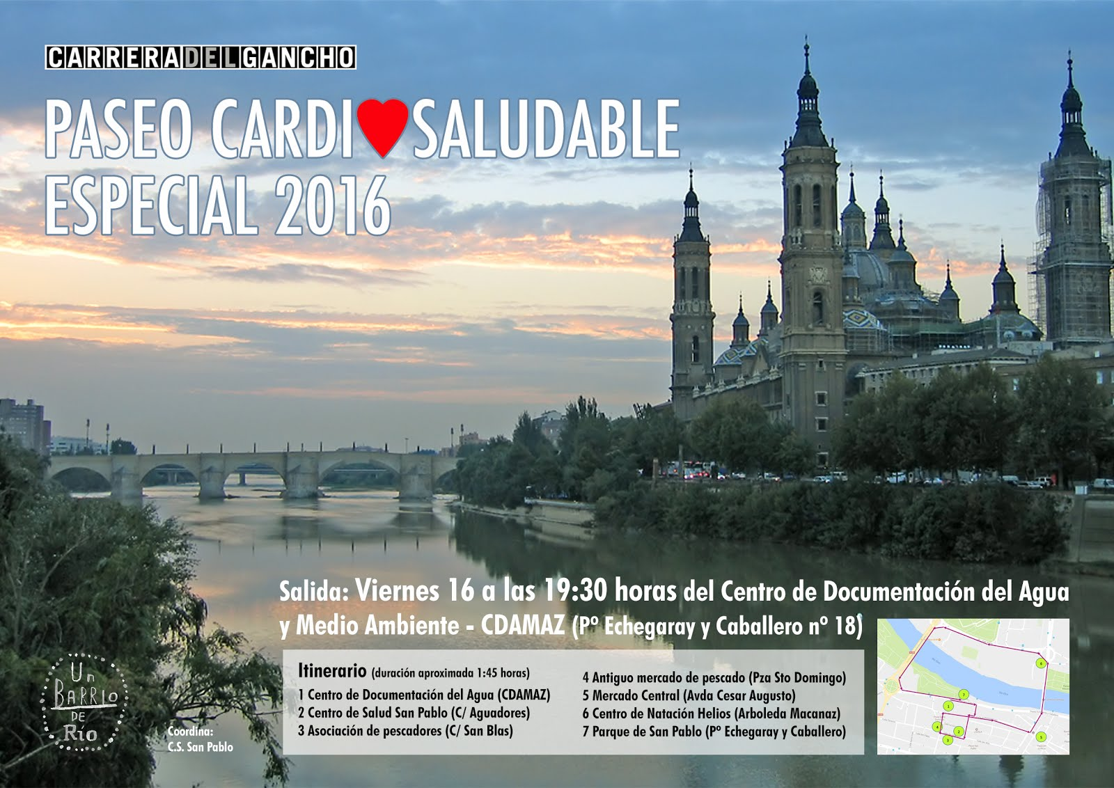 Paseo Cardiosaludable 2016