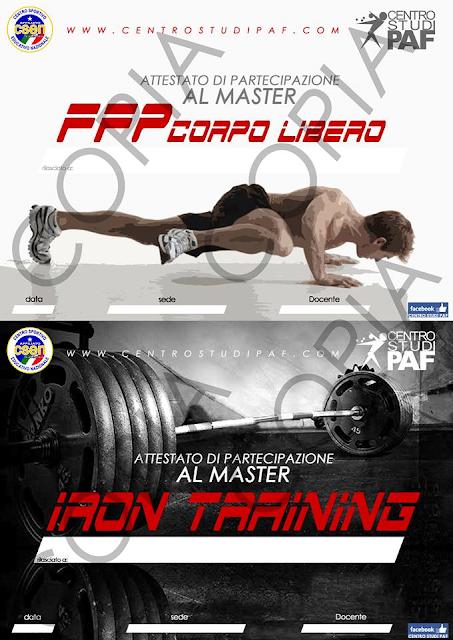 Modificazioni muscolari nei training: iron training e ffp corpo libero