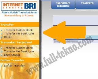 Cara Transfer dengan Internet Banking BRI dengan mudah dan Terbaru