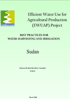 Publicação: Best practices for water harvesting and irrigation / Sudan
