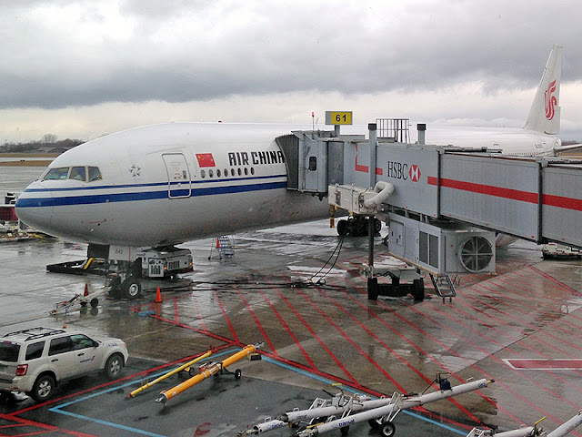Appareil d'Air China à Montréal-Trudeau