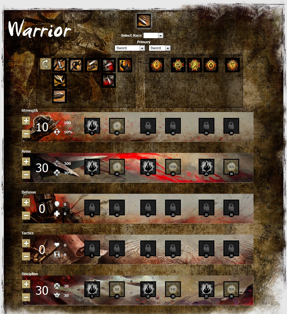 Guild Wars  Warrior Axe Build