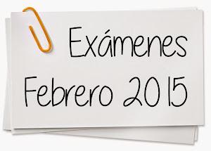 COMISIONES EVALUADORAS FEBRERO 2015