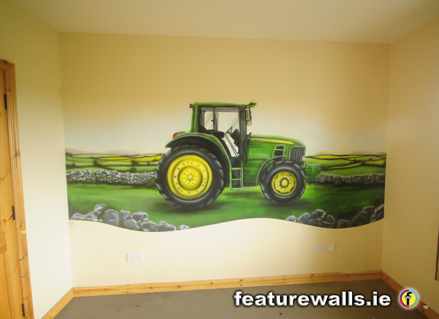John Deere Wall Mural : John deere toddler room boys rooms boy