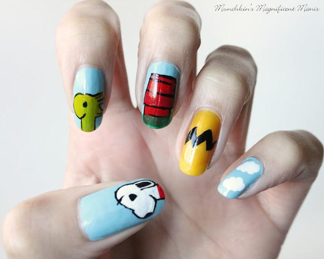 Peanut nail design