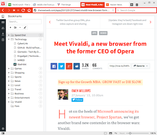 Download Vivaldi 1.0.219.50 Technical Preview 4