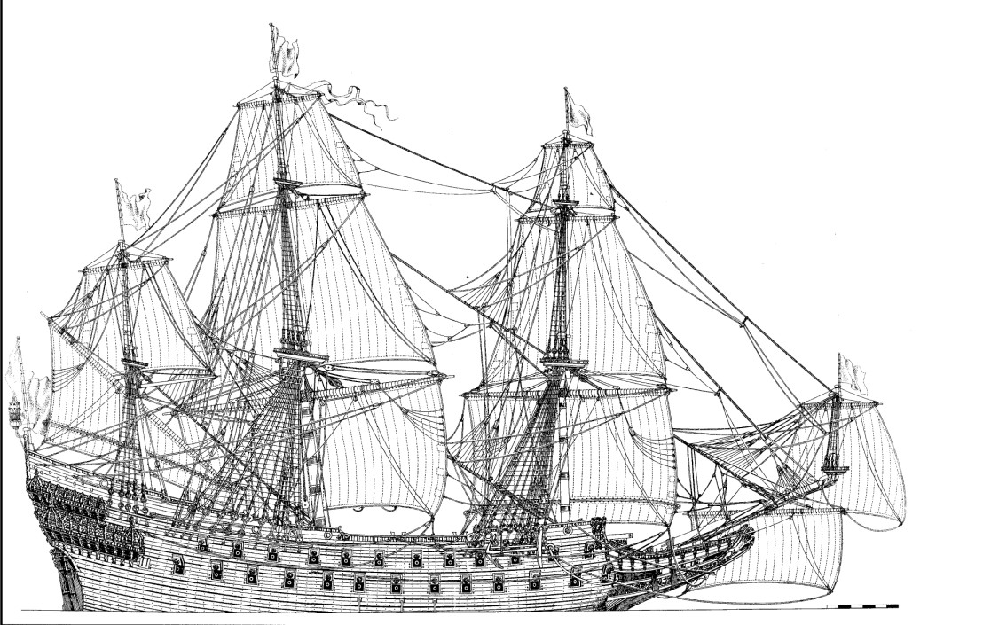 HMS Resolution 70 Gun Ship 1667