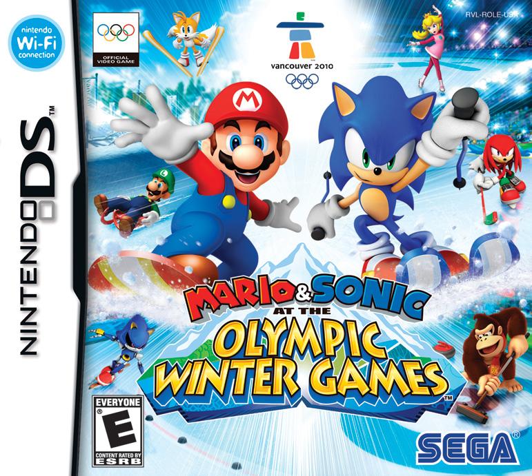 Mario & Sonic en Los Juegos Olimpicos de Invierno [Esp] [NDS]