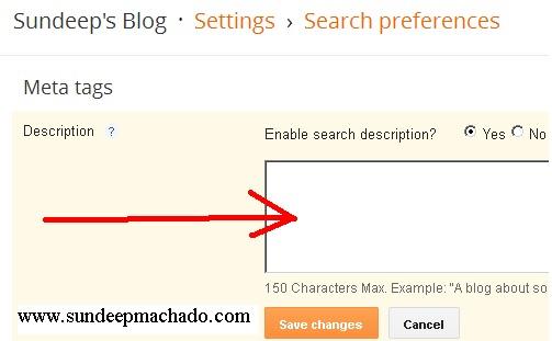 meta-tag-blogger