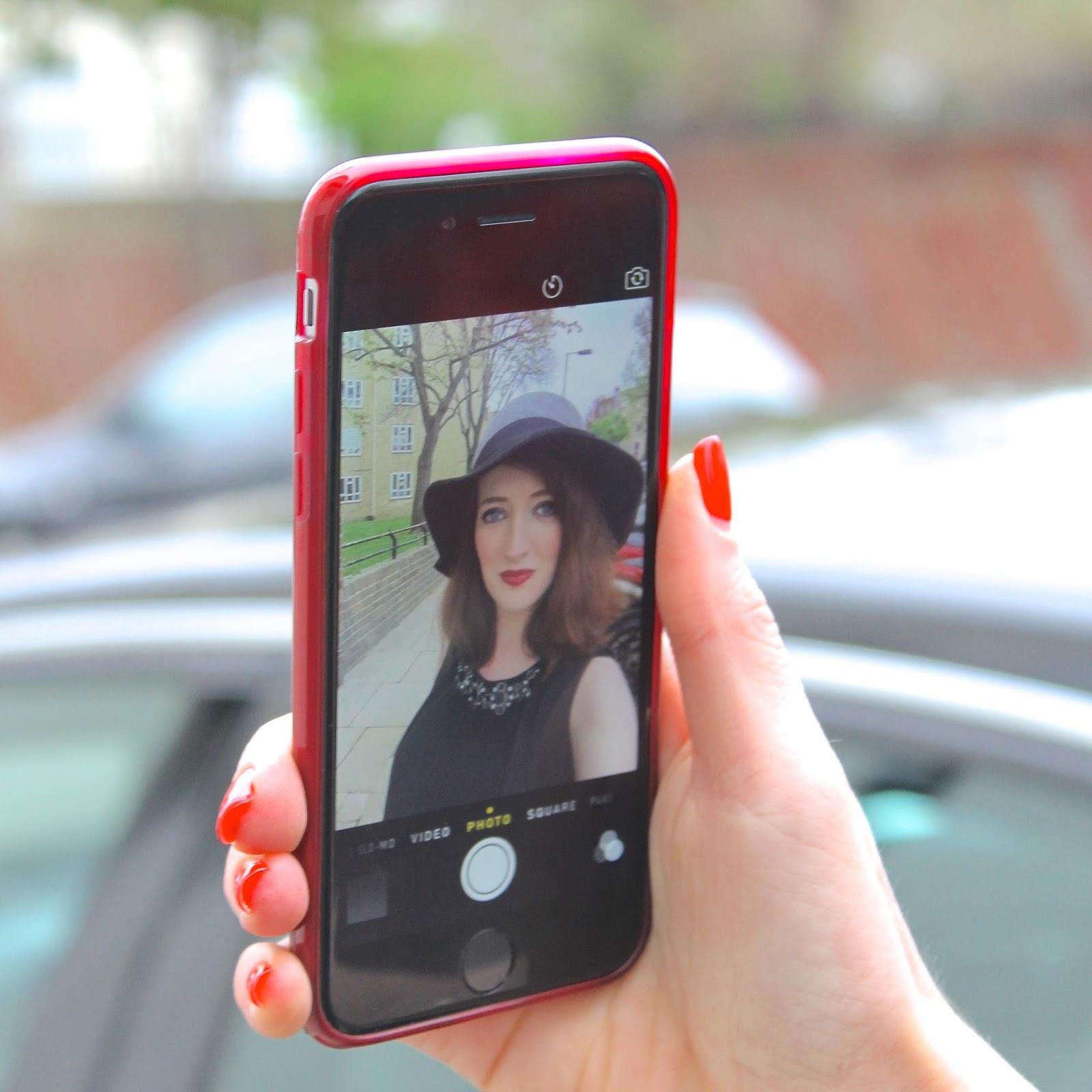Bec Boop selfie blogger