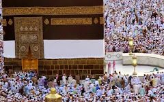 Suasana Ka'bah Saat Musim Haji