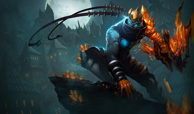 League of Legends Varus_splash_1