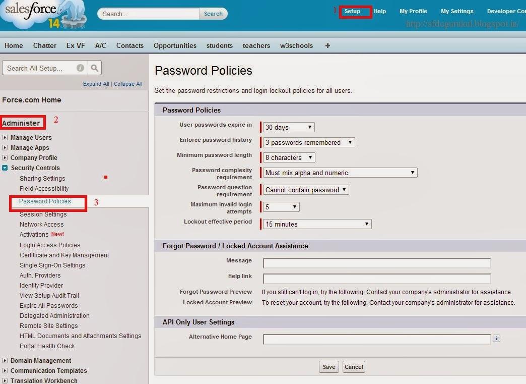 Salesforce_Password_policies