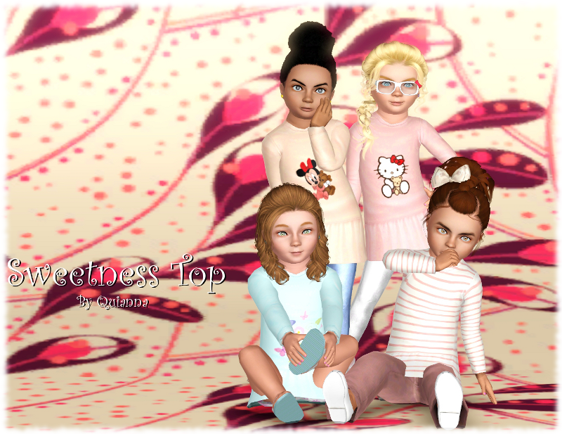 Sims 3 toddler top
