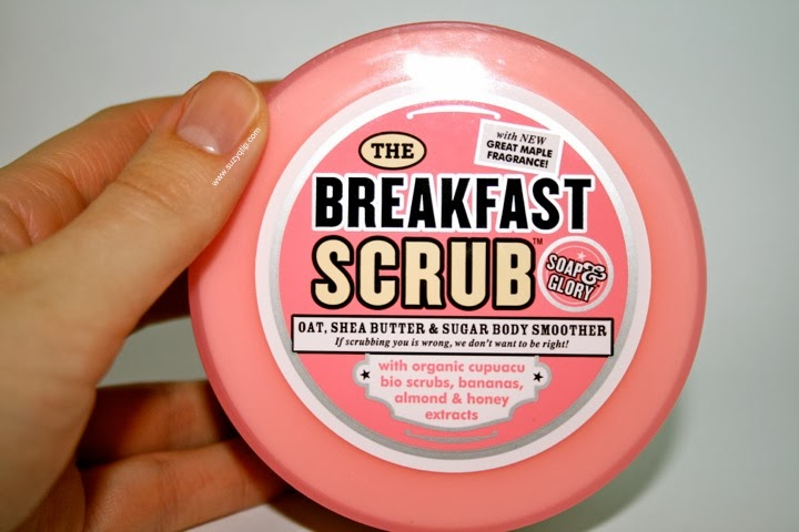 how to use soap and glory breakfast scrub