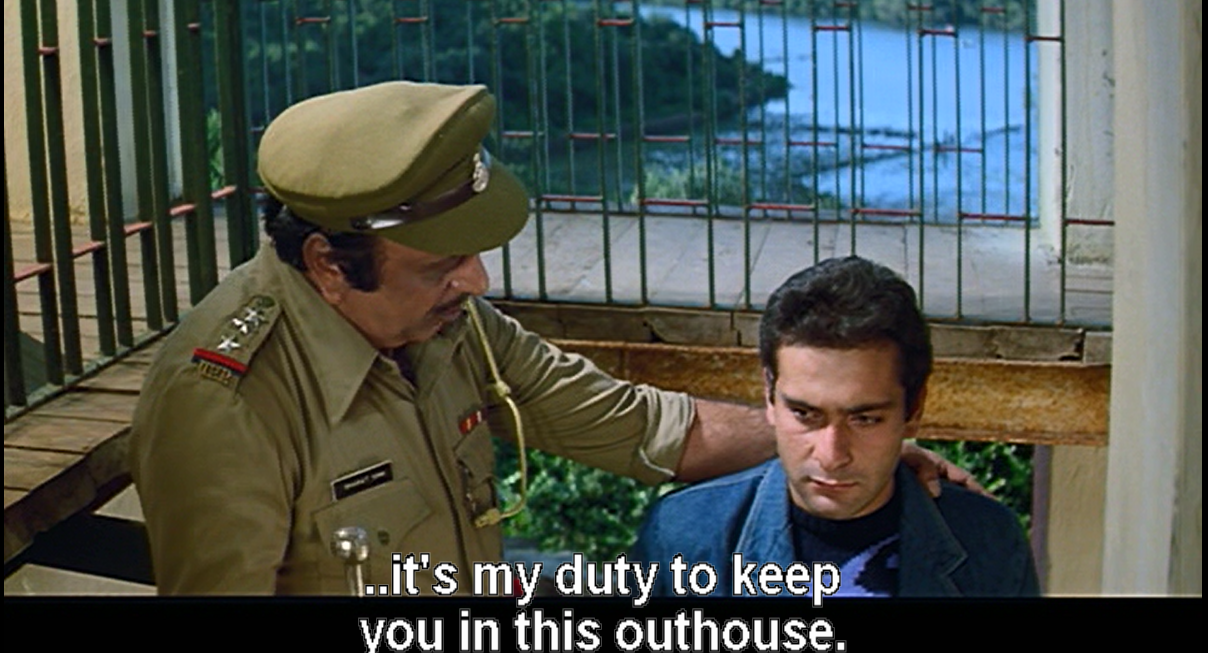 Rajov Kapoor, it is my duty to keep you in this outhouse