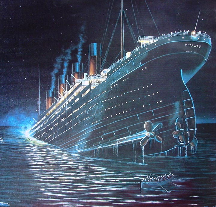 COOL WALLPAPERS: titanic ship