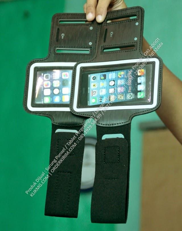 Produk Dijual : Sarung Ponsel / Tablet Pergelangan / Lengan Tangan 5 Inch - Kode Produk : OKI.A0001 armband