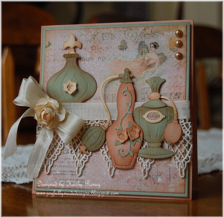 Joyfully Made Designs CottageCutz Fancy Perfume Bottles