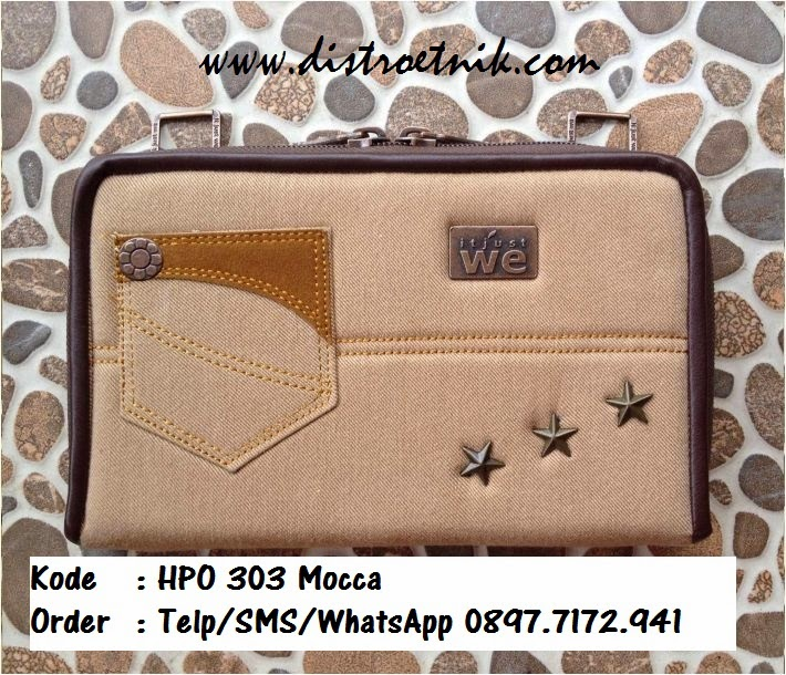 dompet jeans it jus we hpo 303 series mocca