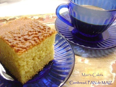 Homemade Cornbread | Mari's Cakes (English)