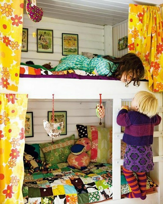 Pocket Full of Whimsy: Kids Shared Bedroom Inspiration