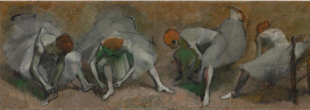 Frieze of Dancers, c. 1895 (Edgar Degas, The Cleveland Museum Of Art)