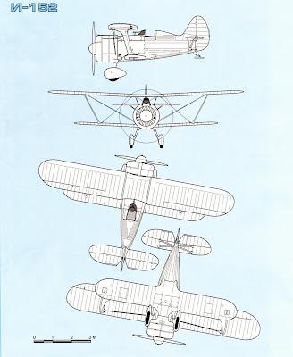 характеристики истребителей И 155 (И 15бис) и ДИТ