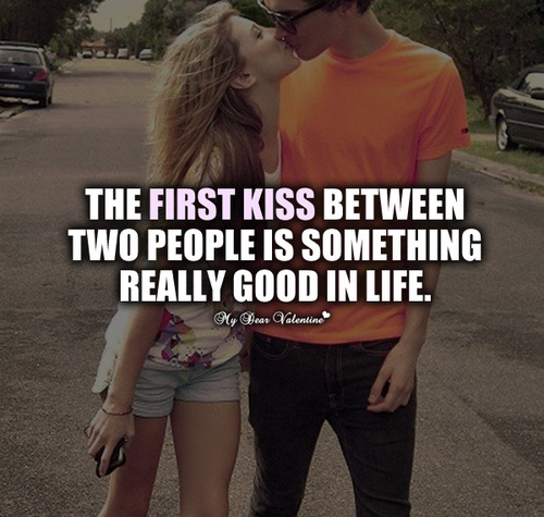 romantic kissing quotes