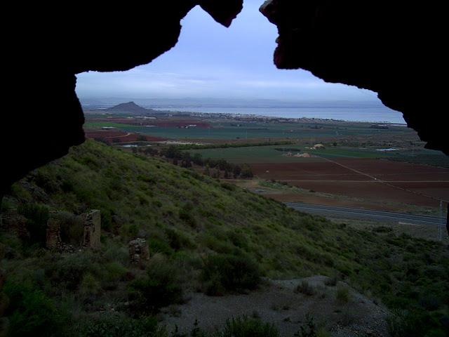 Vistas desde Ermita al Mar Menor