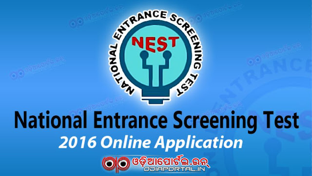 NEST 2016: Complete Schedule, Online Application Form for M.Sc Admission into NISER