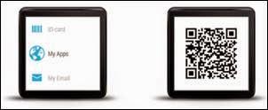 Aplikasi QR code smartwatch