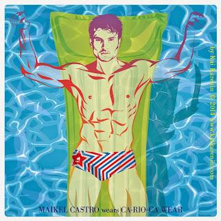 Maikel Castro in The Swim Suite, swimwear editorial by Kai Karenin