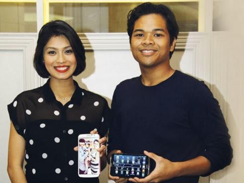 Nana Mahazan dan Aizat Amdan Bukan artis mee segera