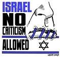 Israel=Geen kritiek toegestaan